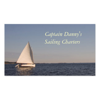 Sailing Charters Double-Sided Standard Business Cards (Pack Of 100)
