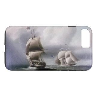 Sailing Clipper Ship Battle Seas iPhone 7 Case