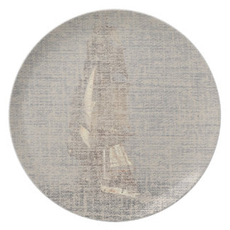Sailing Clipper Tall Ship Boat Ocean Sea Dinner Plate