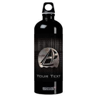 Sailing; Cool Aluminum Water Bottle