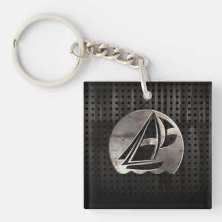Sailing; Cool Keychain
