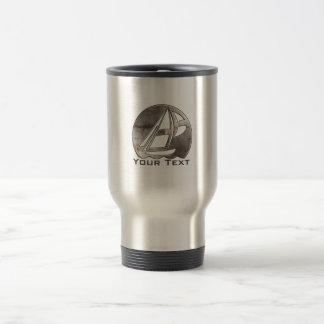 Sailing; Cool 15 Oz Stainless Steel Travel Mug