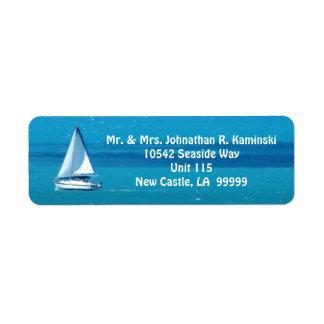 Sailing Custom Label