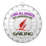 Sailing designs dart board