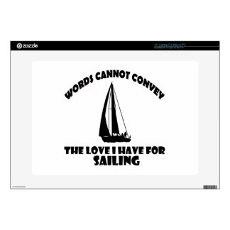 SAILING DESIGNS DECALS FOR LAPTOPS