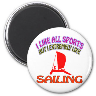 Sailing designs magnet
