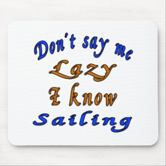 Sailing Designs Mouse Pad