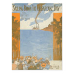 Sailing Down the Chesapeake Bay Postcards