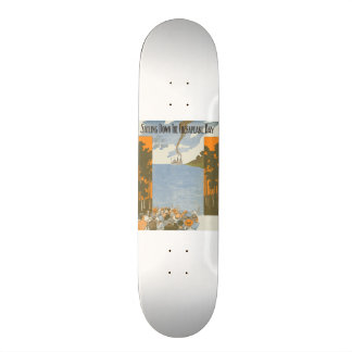 Sailing Down the Chesapeake Bay Skateboard Deck