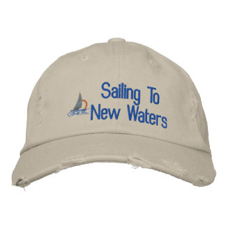Sailing Embroidered Hat