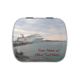 Sailing from Port Canaveral Jelly Belly Candy Tins