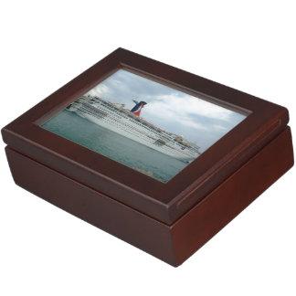 Sailing from Port Canaveral Keepsake Box