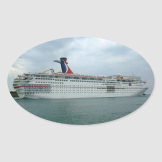 Sailing from Port Canaveral Sticker