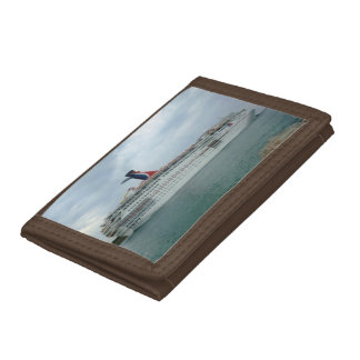 Sailing from Port Canaveral Tri-fold Wallet