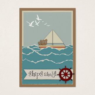 Sailing Gift Tag