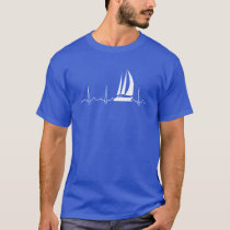 Sailing Heartbeat T-Shirt