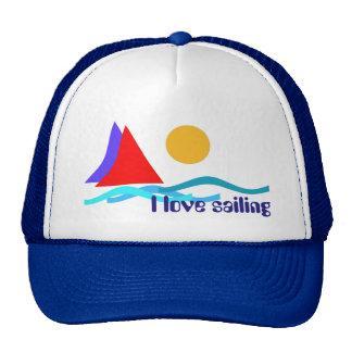 Sailing - I love sailing Trucker Hat