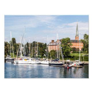 Sailing in Annapolis, Maryland Photo Print