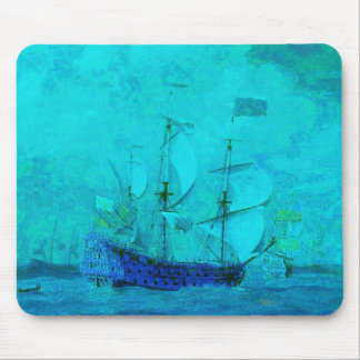 Sailing in Calm Turqoise Waters Mouse Pad
