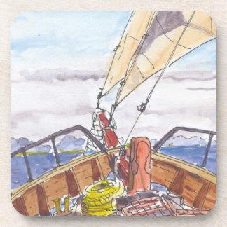 Sailing in Fiji Coasters