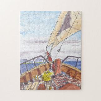 Sailing in Fiji Jigsaw Puzzle