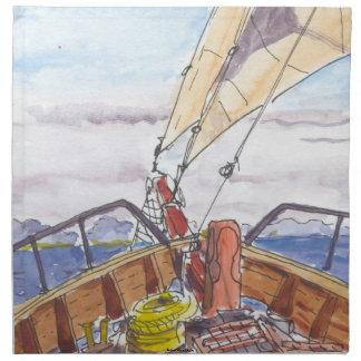 Sailing in Fiji Napkins