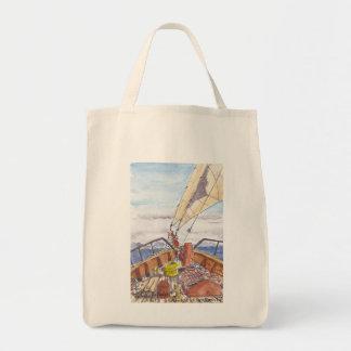 Sailing in Fiji Tote Canvas Bag