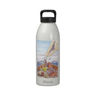 Sailing in Fiji Water Bottle