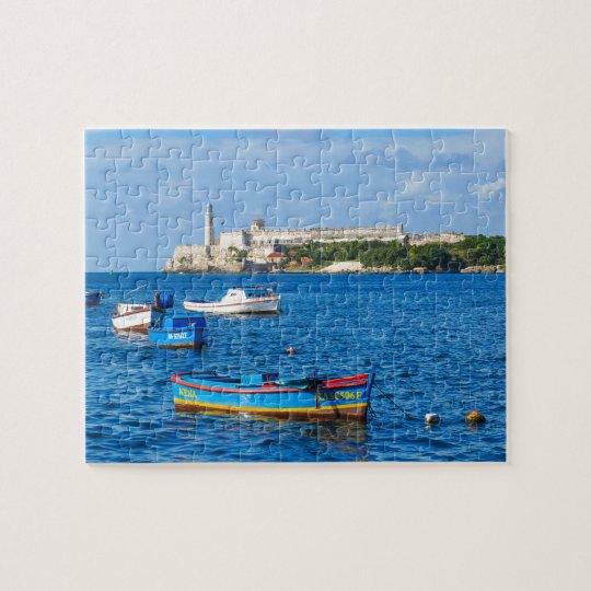 Sailing in Havana, Cuba Jigsaw Puzzle | Zazzle.com