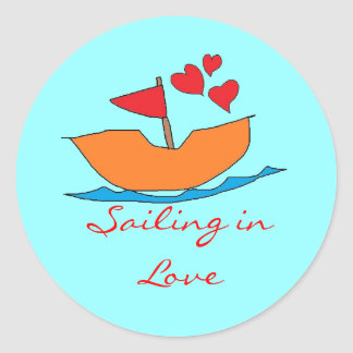 Sailing in Love Stickers