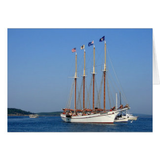Sailing in Maine Card