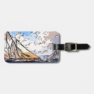 sailing  in murky waters.jpg bag tag