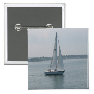 Sailing in New England Pin