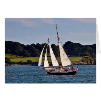 Sailing In Newport Rhode Island USA Greeting Cards