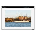 """Sailing in Stockholm, Sweden Skin For 15"""" Laptop"""