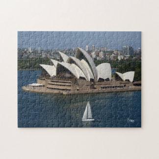 sailing in Sydney Jigsaw Puzzle