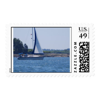 Sailing in the Blue Postage