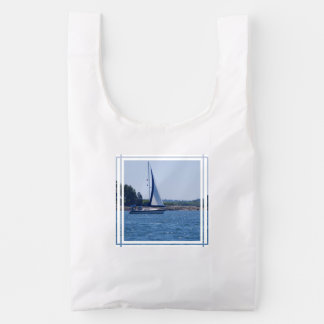 Sailing in the Blue Reusable Bag
