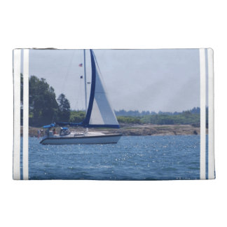 Sailing in the Blue Travel Accessory Bag