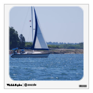 Sailing in the Blue Wall Decal