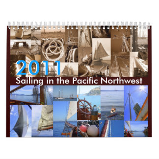 Sailing in the Pacific Northwest Calendar