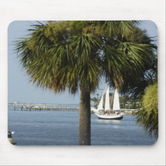 Sailing in the Tropics Mouse Pad