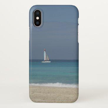 Sailing in Varadero, Cuba - iPhone X Case