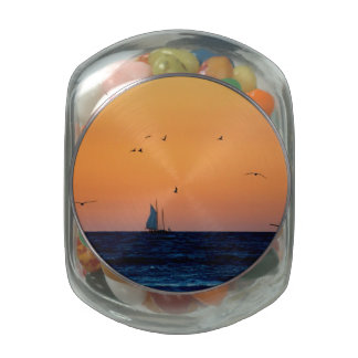 Sailing in Venice Jelly Belly Candy Jars