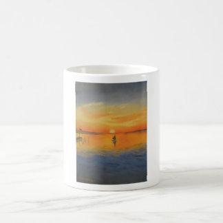 Sailing Into An LBi Sunset Coffee Mug