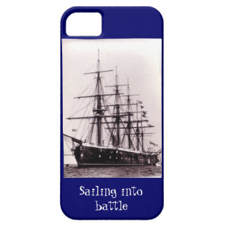 Sailing into battle, HMS Agincourt 1865 iPhone SE/5/5s Case
