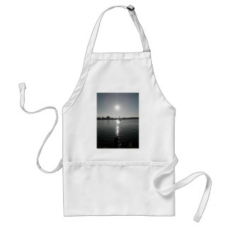 Sailing into the Sunset Adult Apron