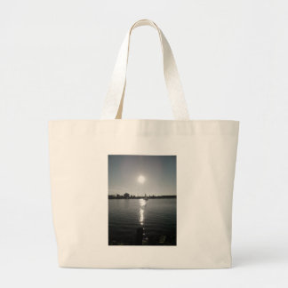 Sailing into the Sunset Canvas Bag