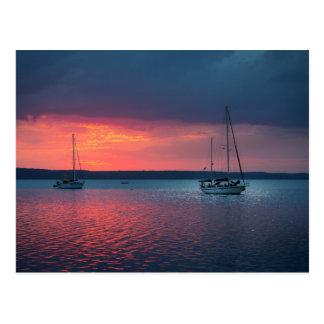 Sailing Into The Sunset | Cienfuego, Cuba Postcard
