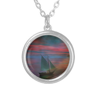 Sailing into the Unknown Pendant